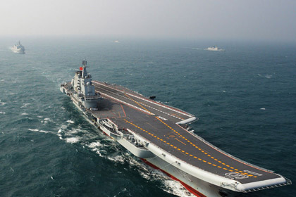 Trung Quốc hoàn thành thử nghiệm Liêu Ninh