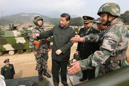 Tập Cận Bình bắt tướng làm... lính