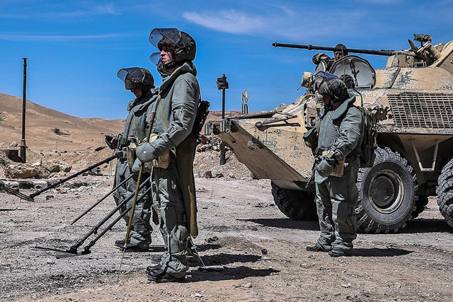 Kinh ngạc với vũ khí mới của Nga thử lửa Syria ảnh 9