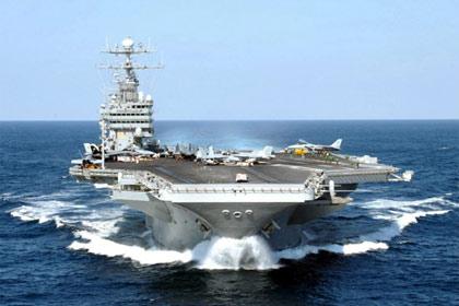 Tàu sân bay ầm ầm kéo đến Biển Đông