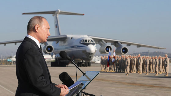 """""""Màn diễn"""" ấn tượng của quân Nga tại Syria ảnh 5"""