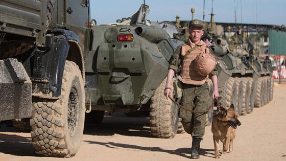 """""""Màn diễn"""" ấn tượng của quân Nga tại Syria ảnh 6"""