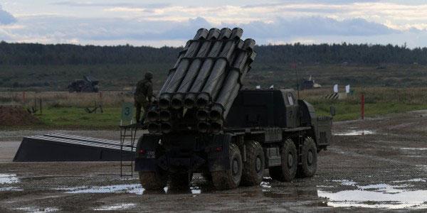 """Nga tung """"Cơn lốc lửa"""" Tornado-S vào trận Syria ảnh 1"""