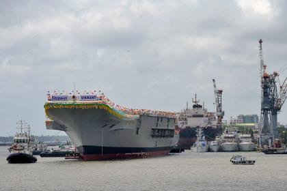 Nga ra tay cứu tàu sân bay Ấn Độ