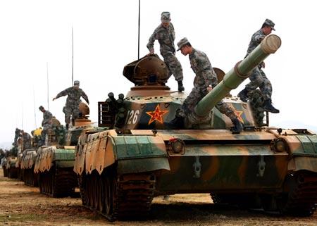 Đối phó Nhật Bản và Biển Đông, Trung Quốc cải tổ quân đội