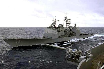 Biển Đông: Tuần dương hạm Mỹ suýt đâm tàu chiến Trung Quốc